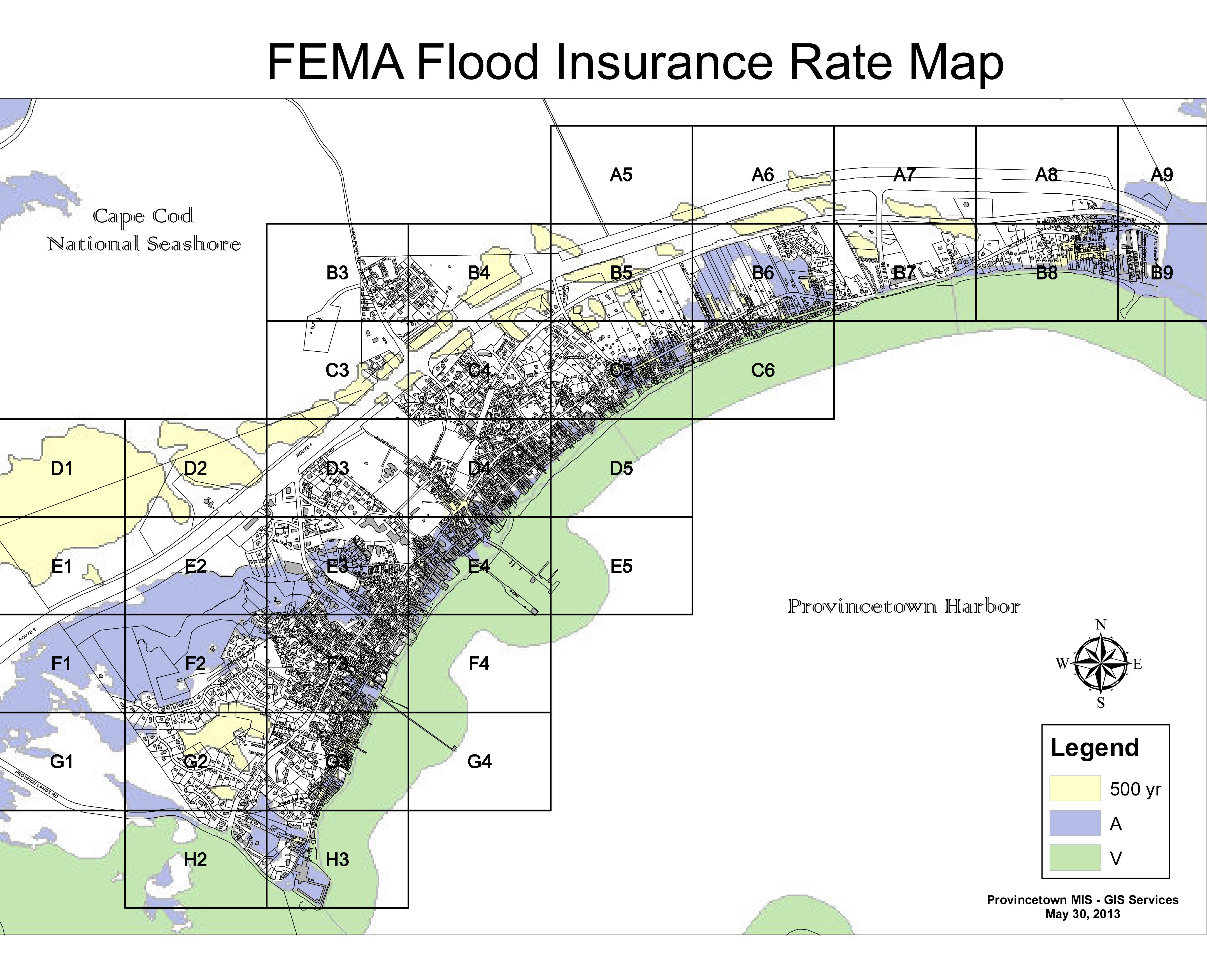 Clickable FEMA Flood Insurance Rate Map