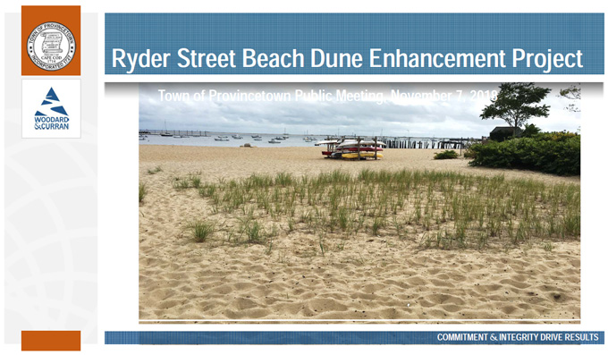 Ryder Street Beach Dune Enhancement Project
