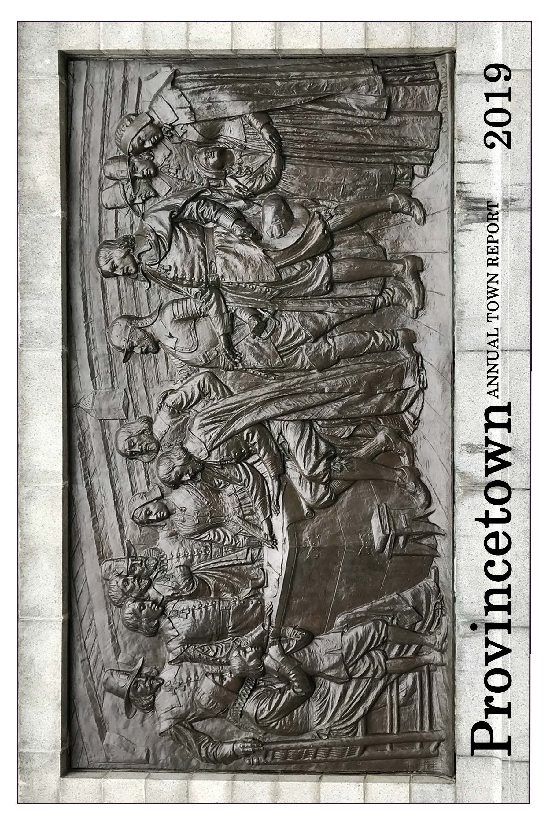 Town Report Front Cover of the Bas Relief Opens in new window