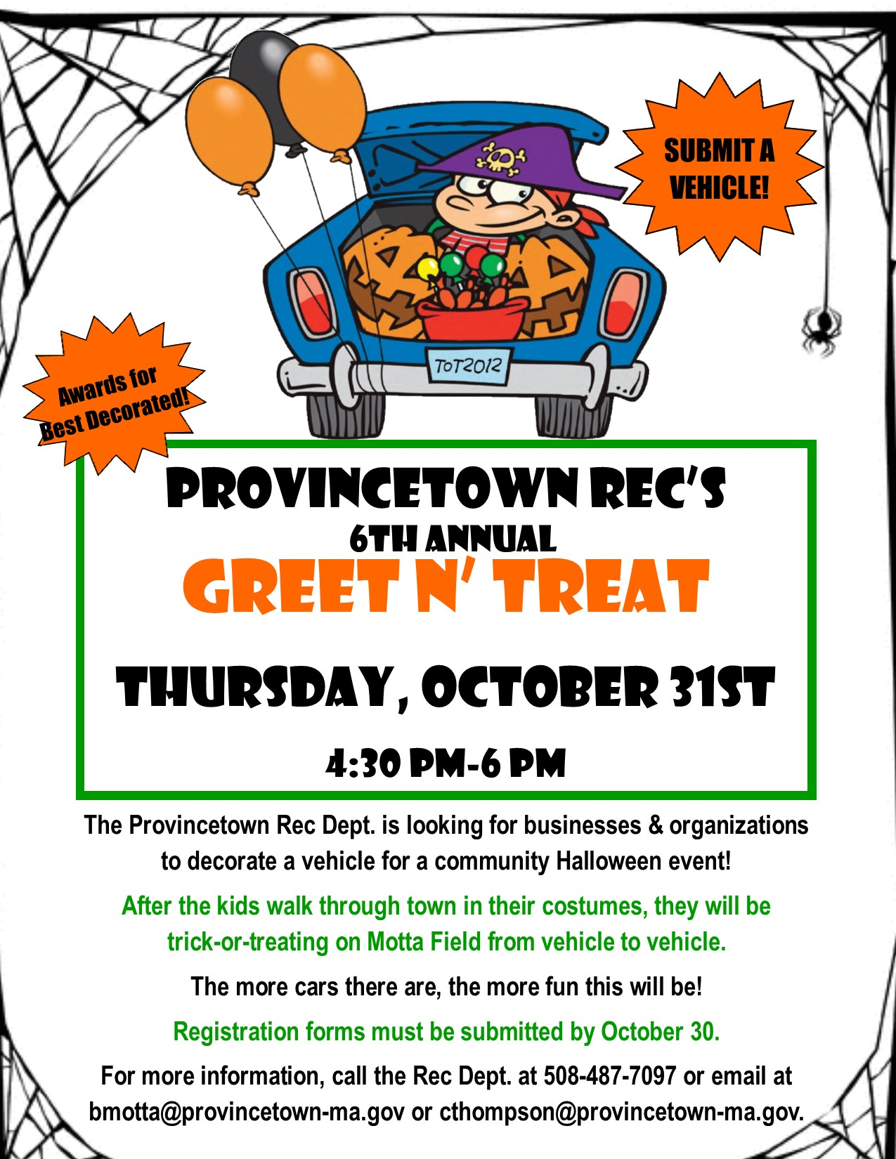Trunk n Treat Flyer  Image2019